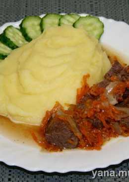 Мясо в вине (скороварка)