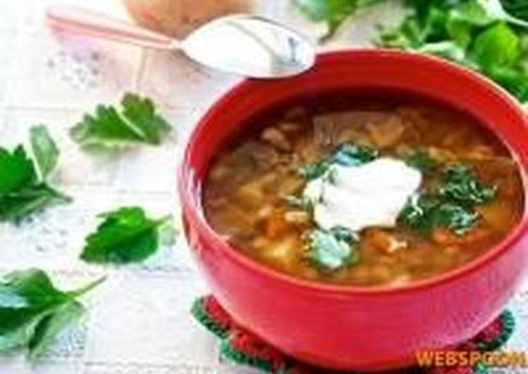 грибной суп из свежих грибов с перловкой рецепт