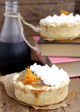 Гасконский тарт с черносливом