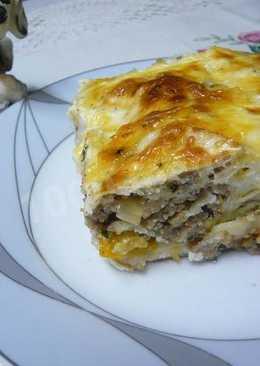 Турецкий бёрек (пирог с фаршем)