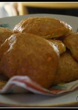 Сырное печенье на скорую руку