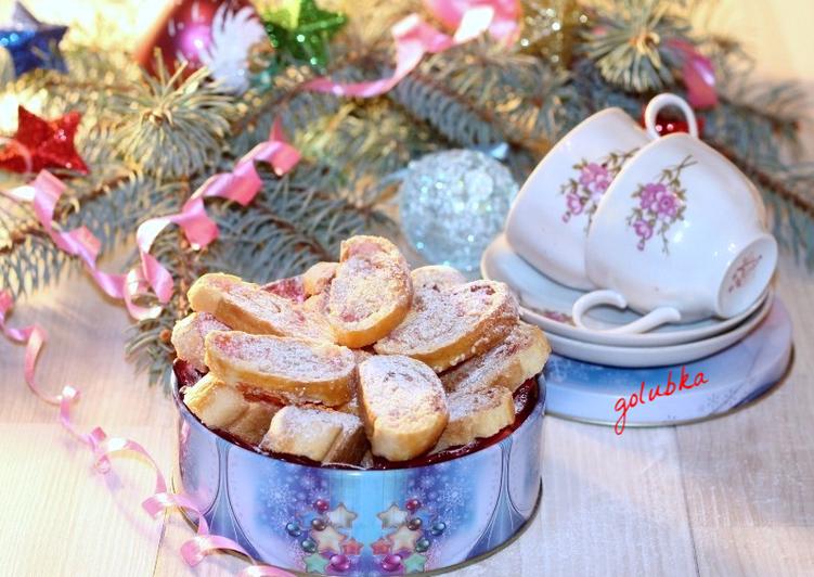 Cливочное печенье с кокосом