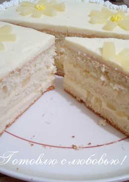 🍍Ананасовый торт 🎂