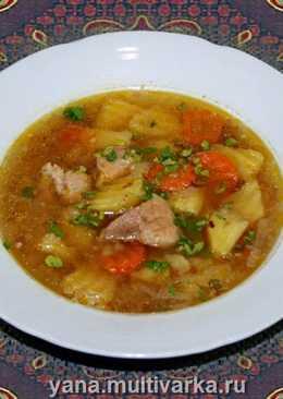 Гречневый суп в скороварке