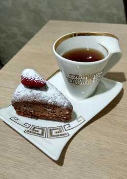 Шоколадный пирог с шоколадной начинкой