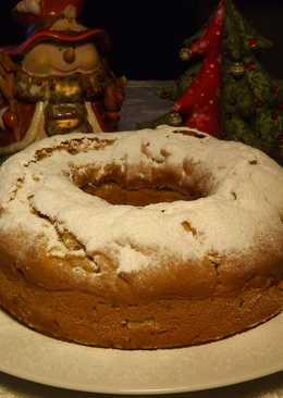 Пирог на яблочном соке (постный)