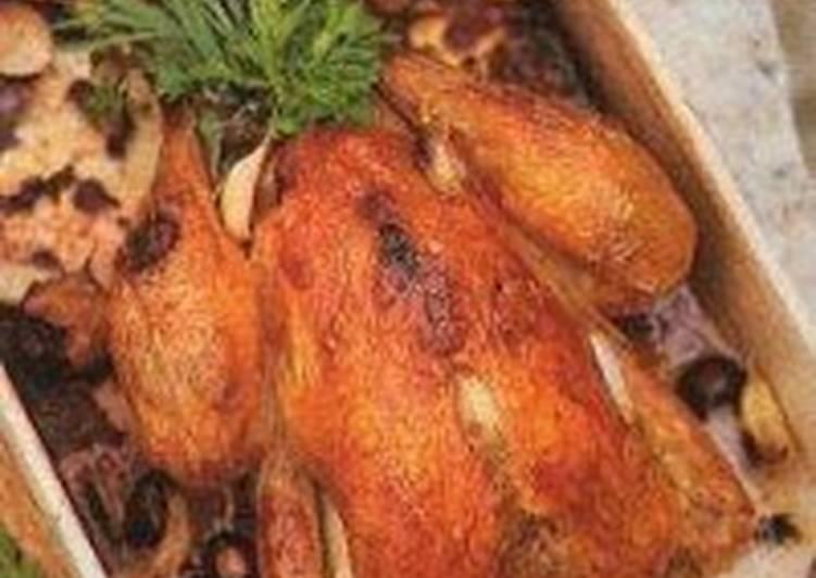 Курица по-французски