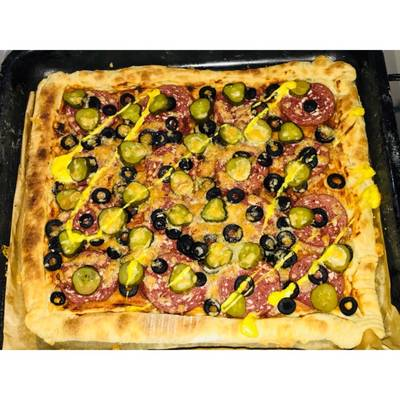 Пицца «По-деревенски»