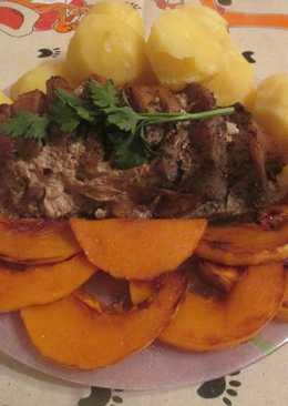 Свинина, запеченная в фольге с овощами