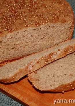 Ржаной хлеб горчично-медовый с кориандром