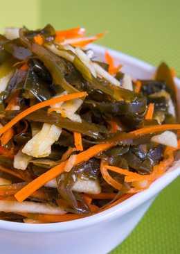Салат с морской капустой - заряд витаминов на целый день