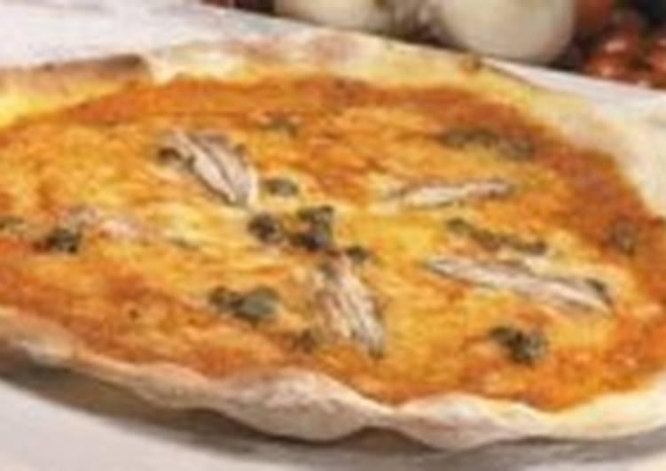 Быстрая пицца по-римски