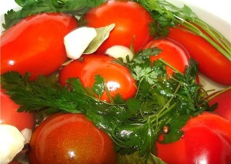 Маринованные помидоры кисло-сладкие