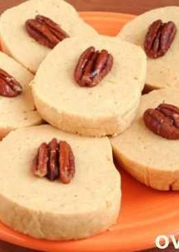 Тыквенное печенье с орехами
