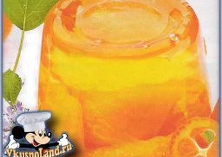 Апельсиновое кисло-сладкое желе