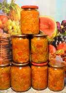 Токана овощная из сладкого перца и гогошаров с рисом