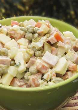 """Легкая и свежая замена """"Оливье"""" - восхитительный салат на новогодний стол"""