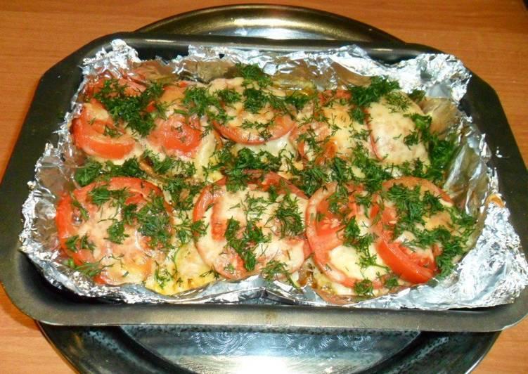 Горбуша порционная запеченная в духовке
