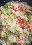 Булгур с овощами #кулинарныймарафон