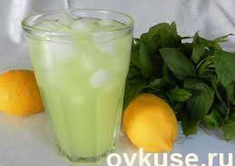"""Турецкий лимонад или лимонный напиток """"Король стола"""""""