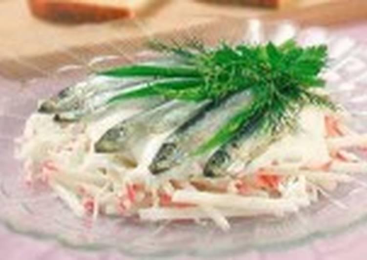 Салат крабовый с майонезом