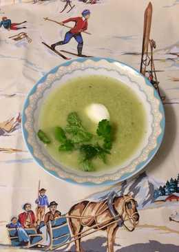 Постный Суп-пюре из вешенок и брокколи за 15 минут