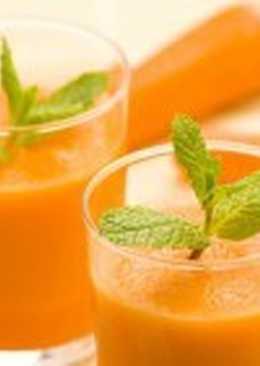 Морковно-молочный кисель
