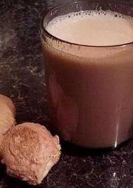 Согревающий шоколадный напиток с имбирём и перцем чили