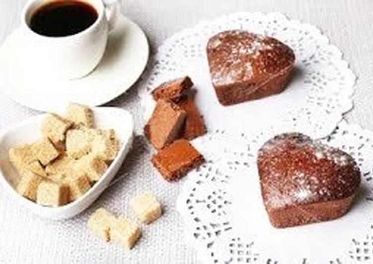 Шоколадные кексы со сгущенкой - Простой, вкусный и быстрый рецепт
