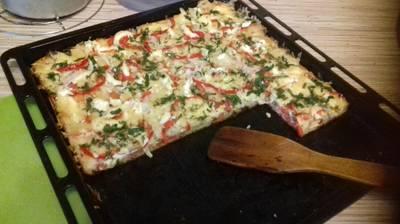 """Пицца """"по - домашнему"""""""