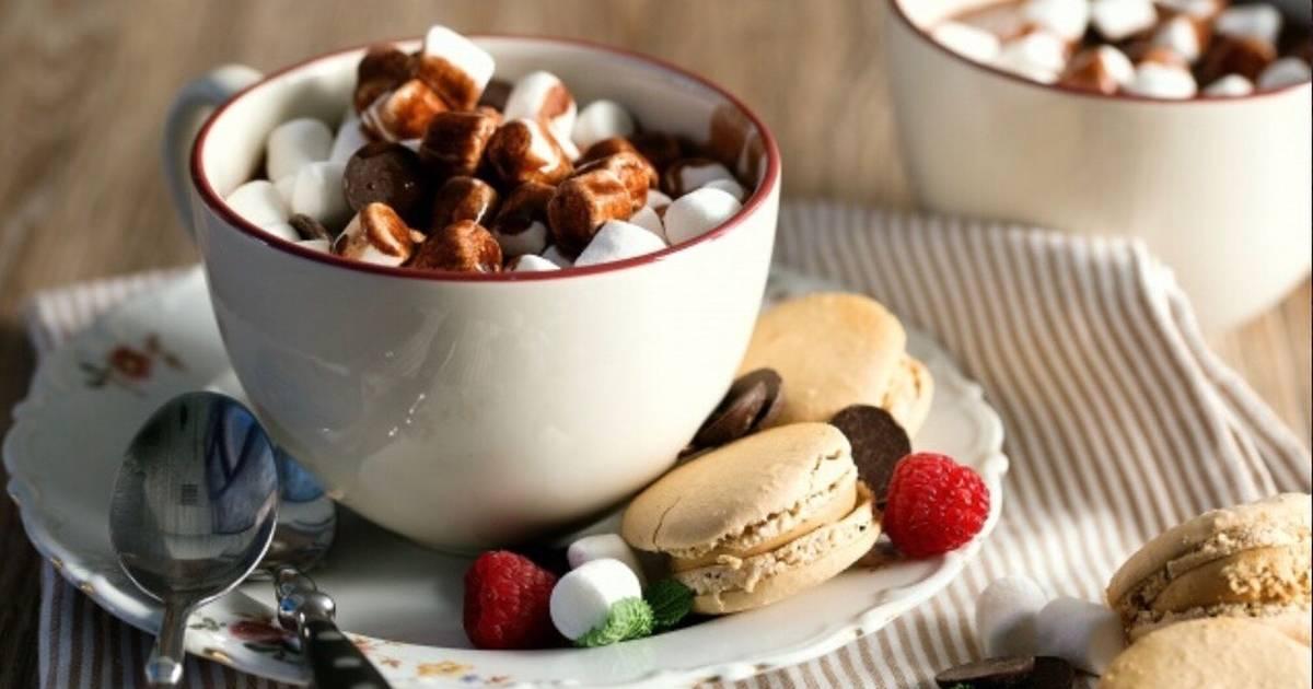Картинки горячий шоколад с маршмеллоу