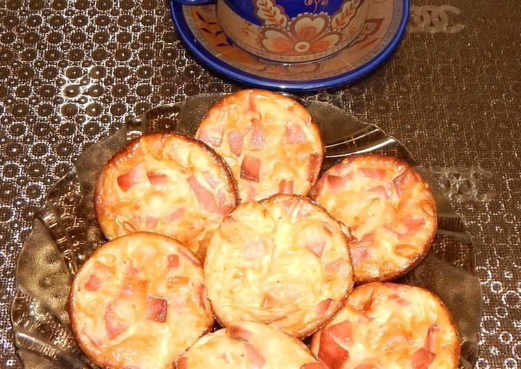 Капучино с кексиками из кабачка