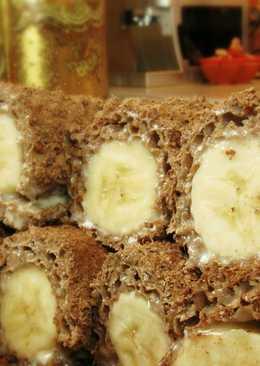 Банановый десерт без выпечки
