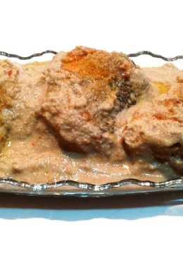 Сациви из рыбы. Рыба в семечках – грузинская кухня