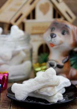 """Новогоднее печенье """"Сахарная косточка"""""""