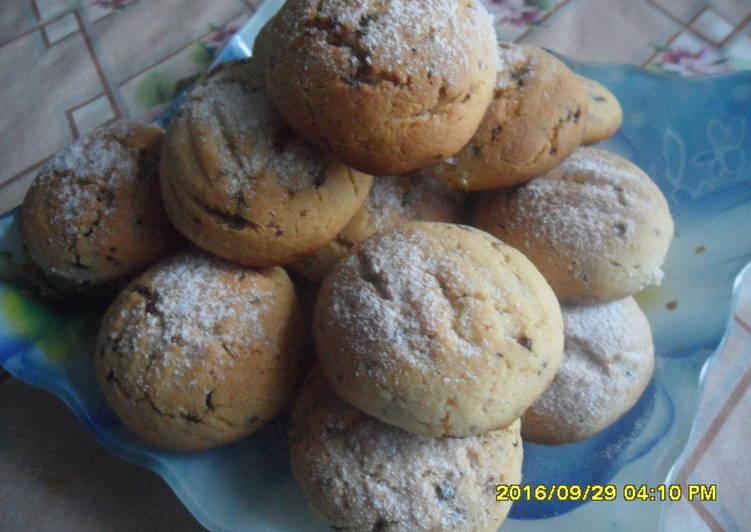 Песочное печенье с кофе