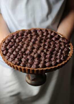 Творожное печенье с ежевикой