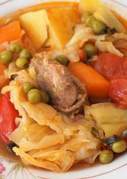 Босански лонац - рагу с овощами и мясом