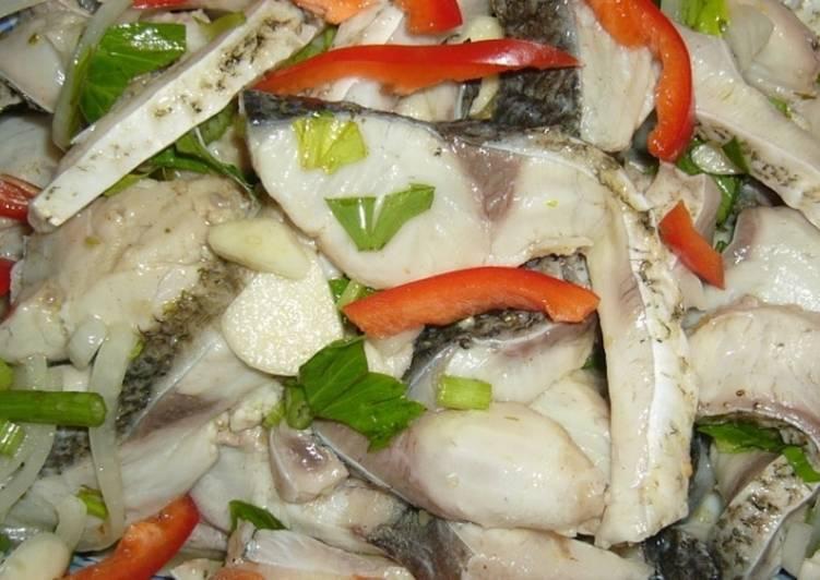 Салат из щуки рецепт