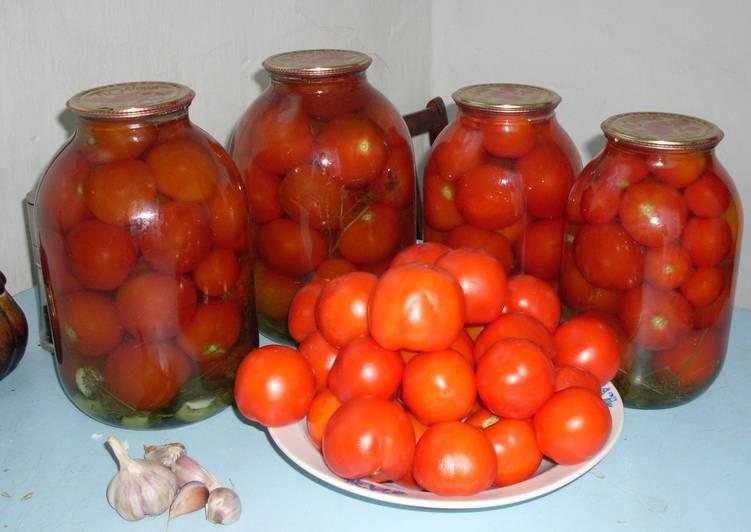 Маринованные помидоры бабушки моей