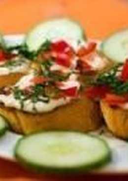 Постные бутерброды «Весенние»