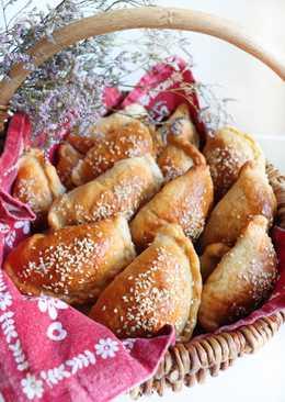 Замечательные цельнозерновые пирожки с индейкой и грибами