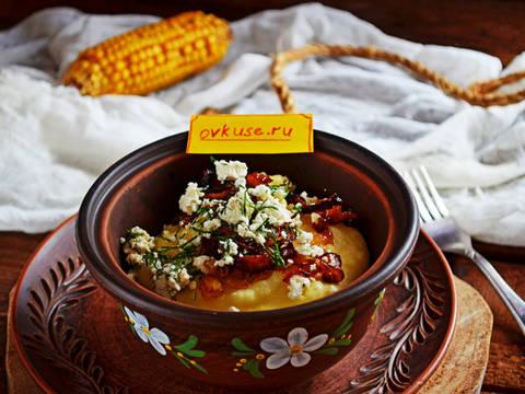 Каша кукурузная рецепт сметана — pic 4