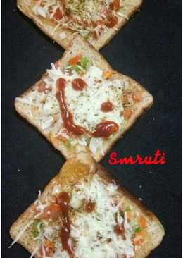 वेज पिज़्ज़ा सैंडविच