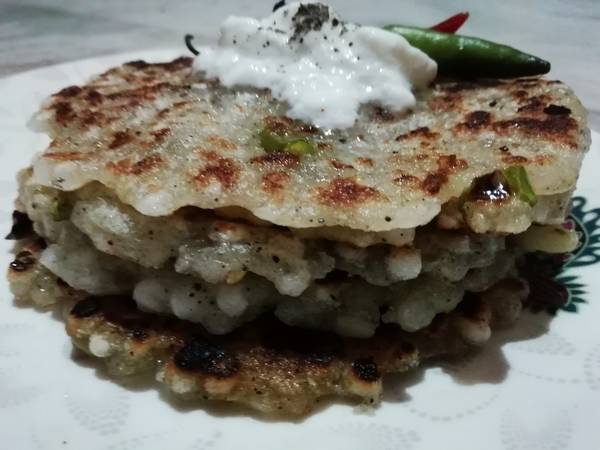 साबूदाना थालीपीठ (sabudana thalipeeth recipe in hindi)
