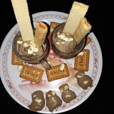 पार्ले बिस्कुट आइसक्रीम Parle biscuit icecream recipe in hindi