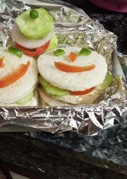 तिरंगा वेज सैंडविच
