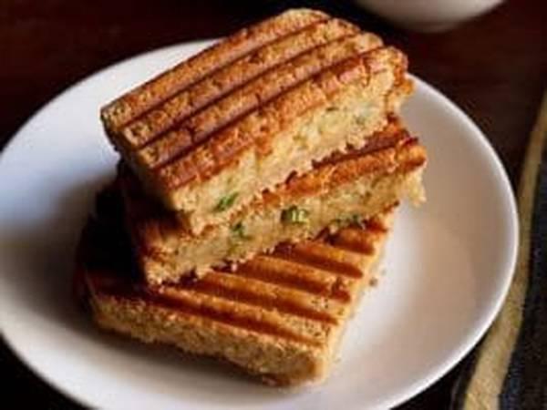 ओट्स पोहा स्प्राउट सैंडविच#सैंडविच