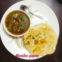 छोले कुलचे (Chole Kulche Recipe in Hindi)