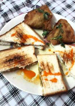 इनोवेटिव समोसा सैंडविच